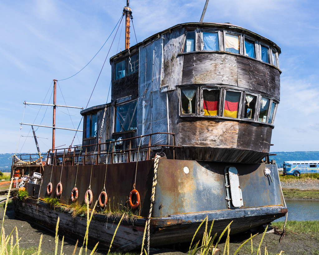Old Fishing Boat by photograndma