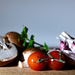 Tomato and mushroom