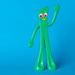 (Day 343) - It's Gumby!