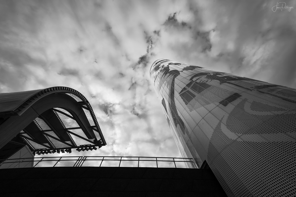 U of O Reaches for Sky  by jgpittenger