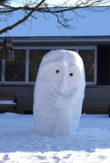 22nd Jan 2021 - Snow Sculpture