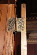 23rd Jan 2021 - Doors #2: Ornate Hinge, Glanmore House