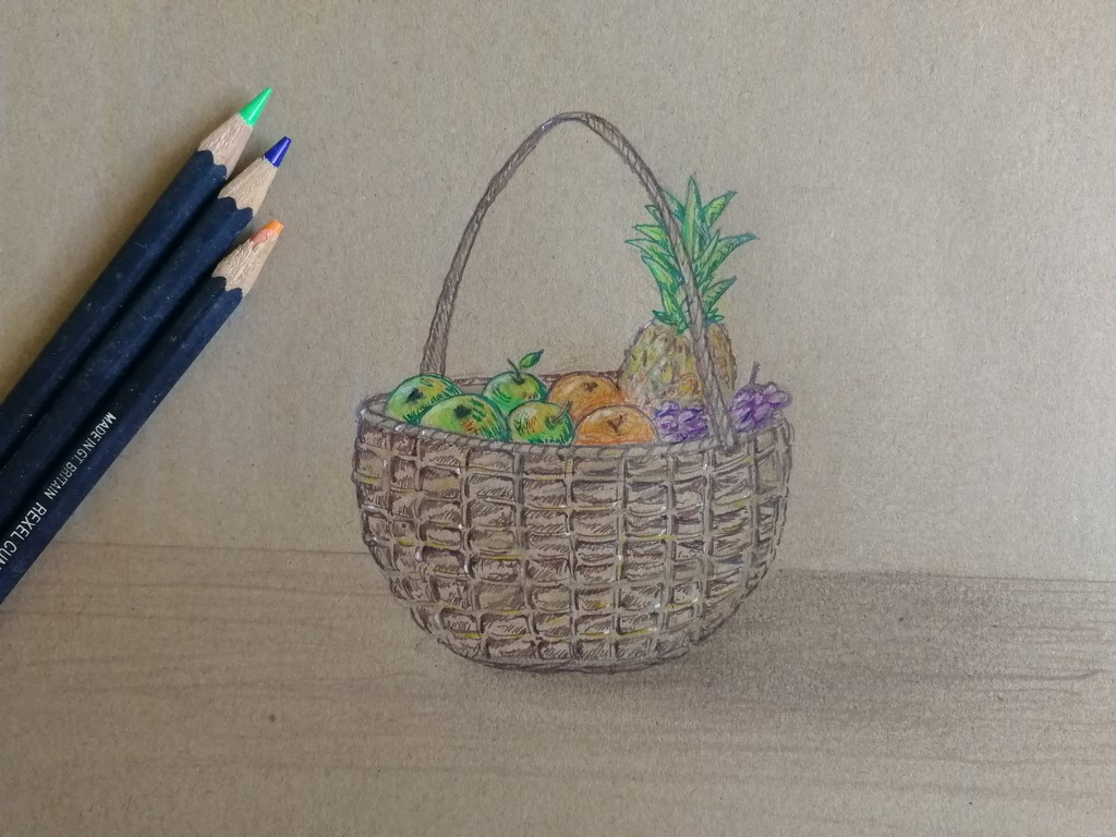 A basket of fruit by ilovelenses