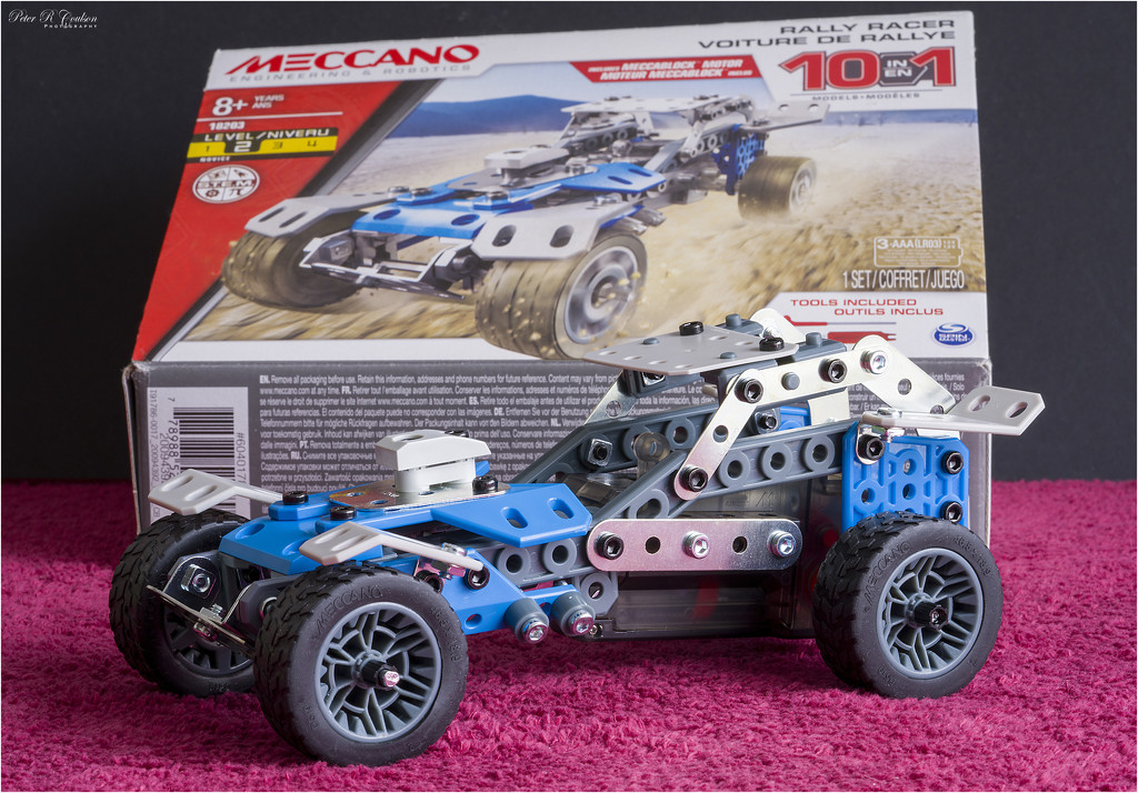 Meccano Rally Racer by pcoulson