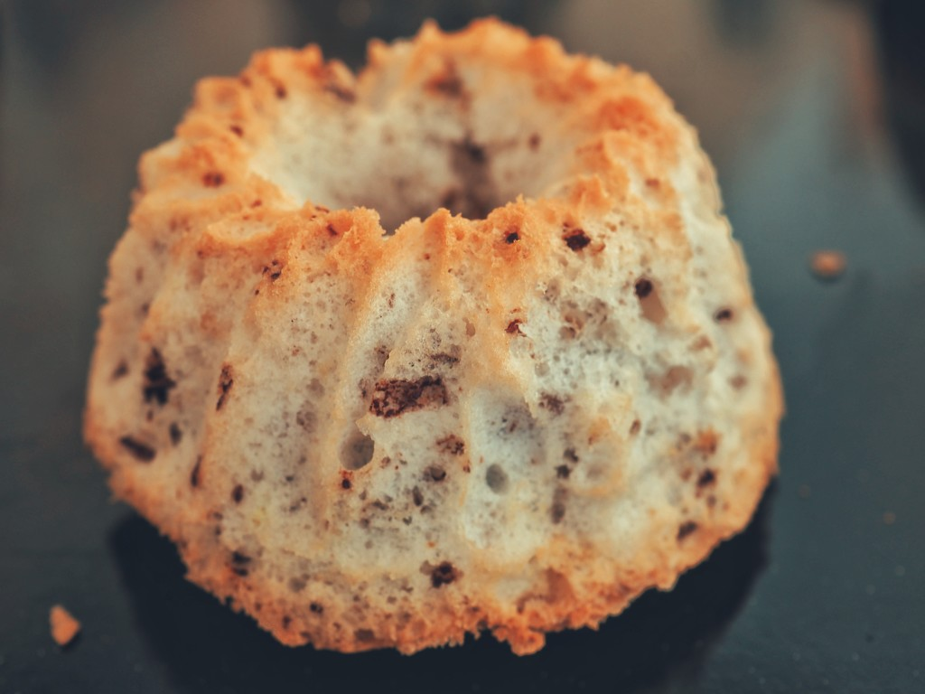 I'll show you the texture of the muffin by monikozi