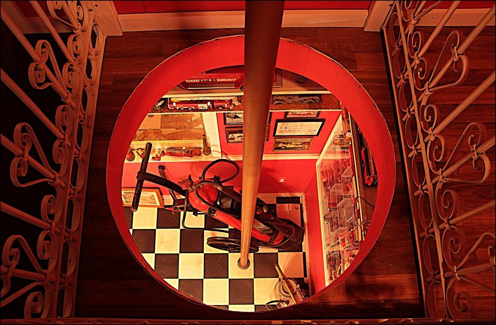 Down the Hole on the Fireman's Pole by olivetreeann