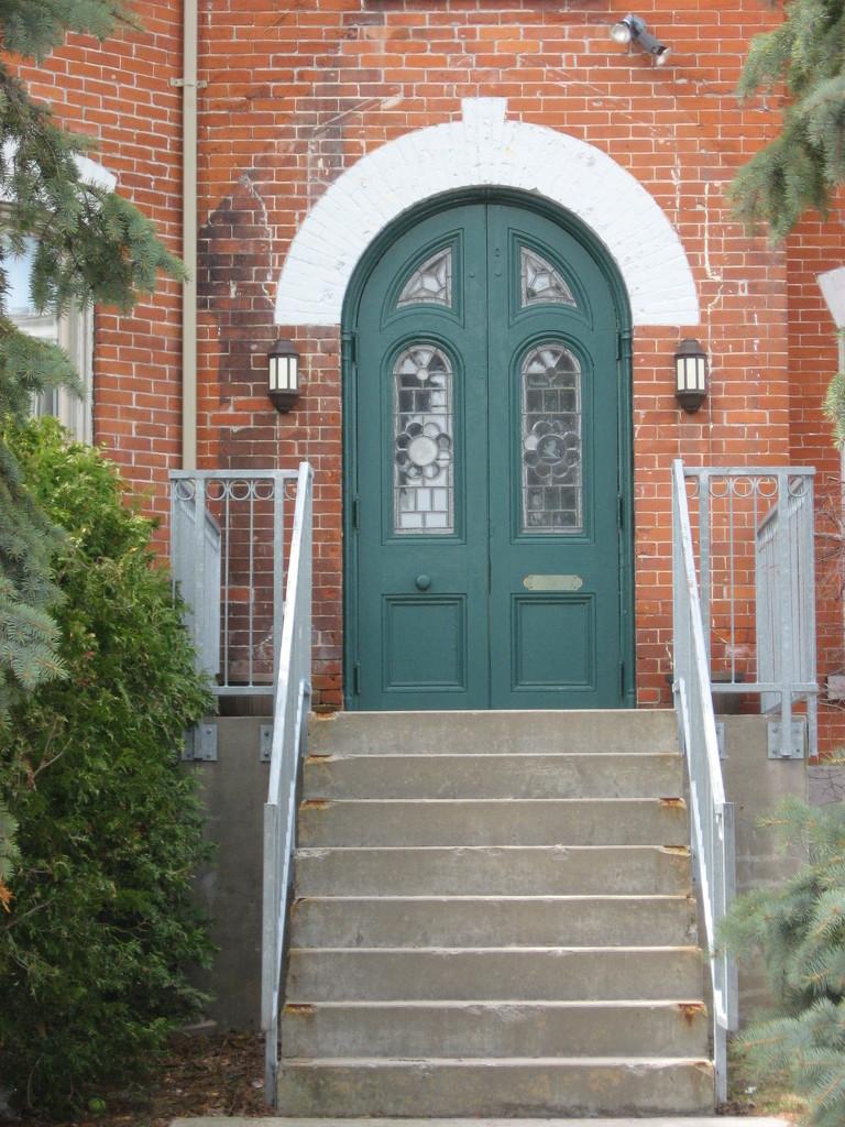 Doors #3: Green Door by spanishliz