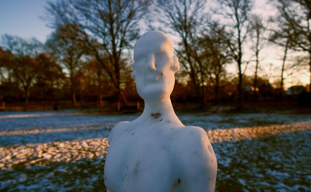 Snowman by moonbi