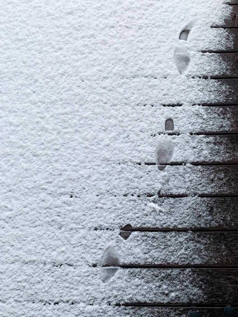 Footprints.  by cocobella