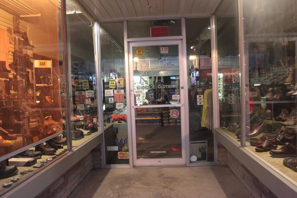 Doors #4: Shoe Store by spanishliz