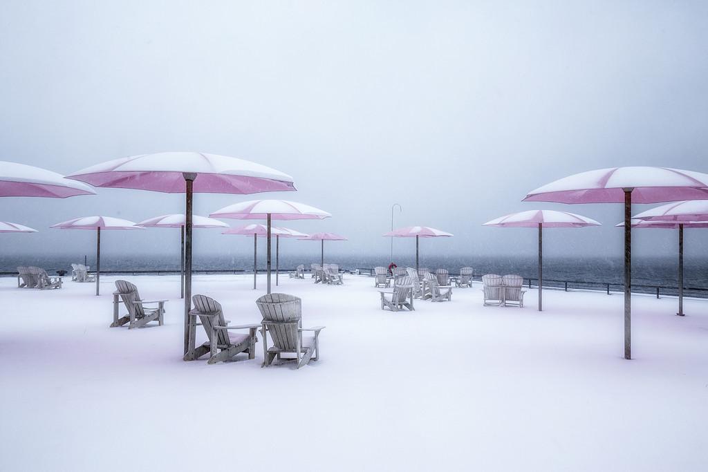 Sugar Beach in Winter by pdulis