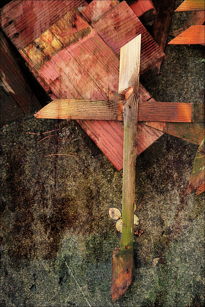 The Old Rugged Cross by olivetreeann