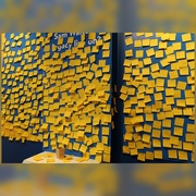 27th Jan 2021 - The inimitable 3M Post It Note