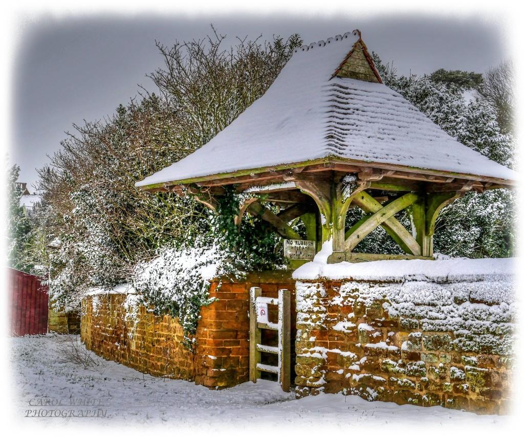 The Lych Gate,St.Mary's Church,Great Brington by carolmw