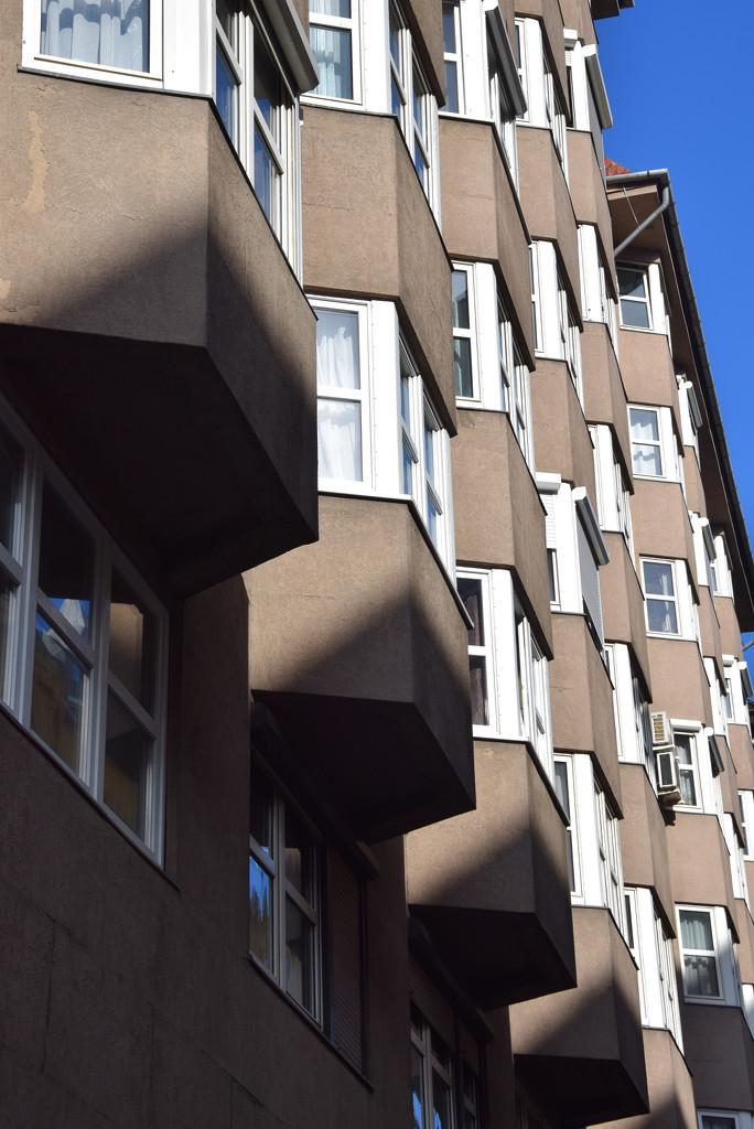 Enclosed balconies ..... by kork