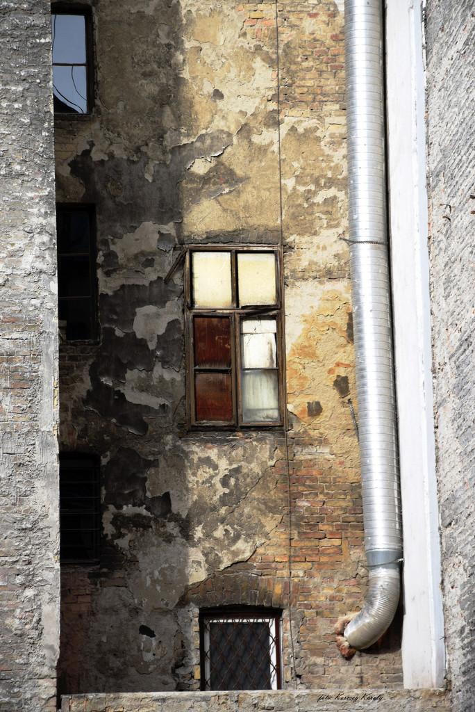 Between houses ..... by kork