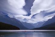 29th Jan 2021 - Kayakers At Bowman Lake 2021 Reedit