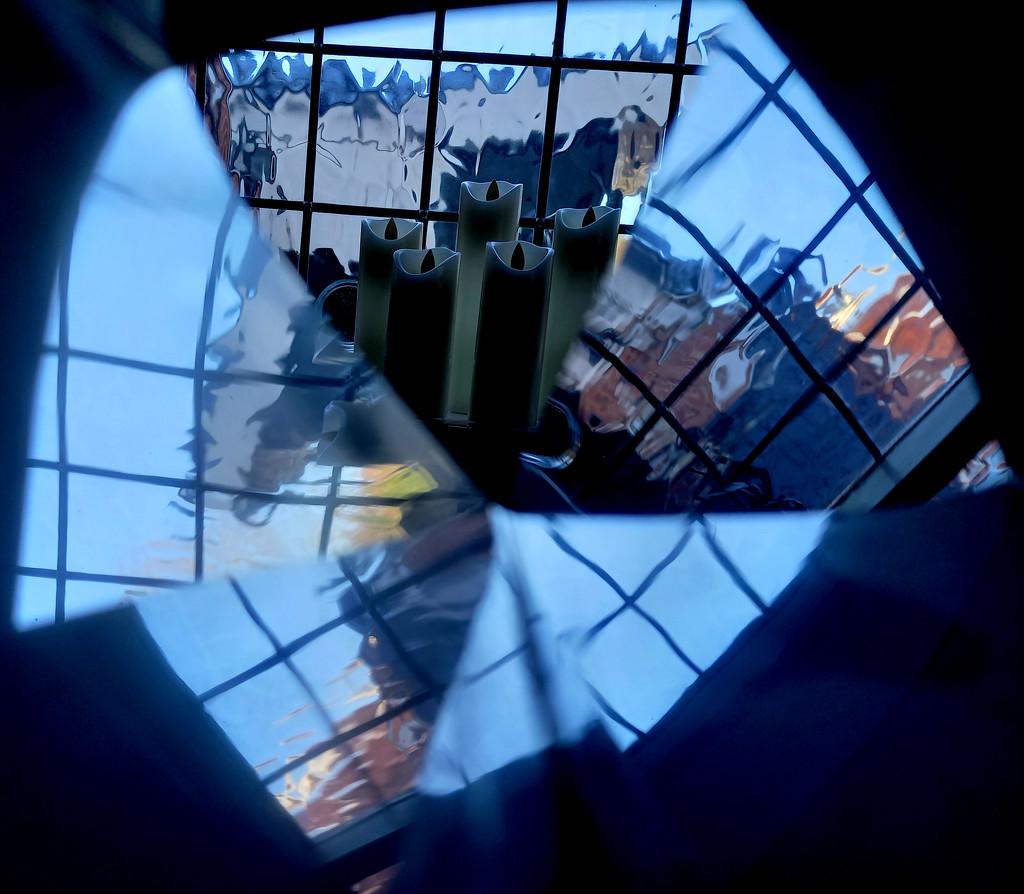 Jan 27th Windowsill Reflected by valpetersen