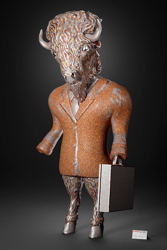 Animal Businessman by humphreyhippo