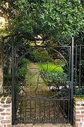 31st Jan 2021 - Gate and garden entrance, Charleston