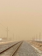 30th Jan 2021 - A sandstorm in Lubbock yesterday, 50-60 mph winds and no rain makes the soil too dry.
