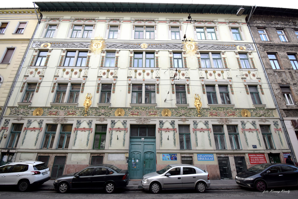 Art Nouveau house by kork