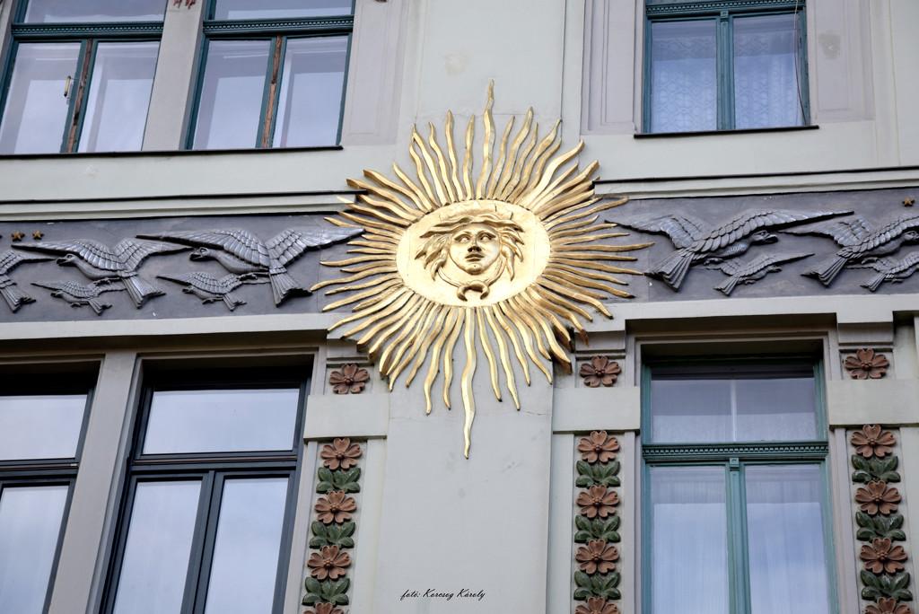 Sun with the birds of the sky by kork
