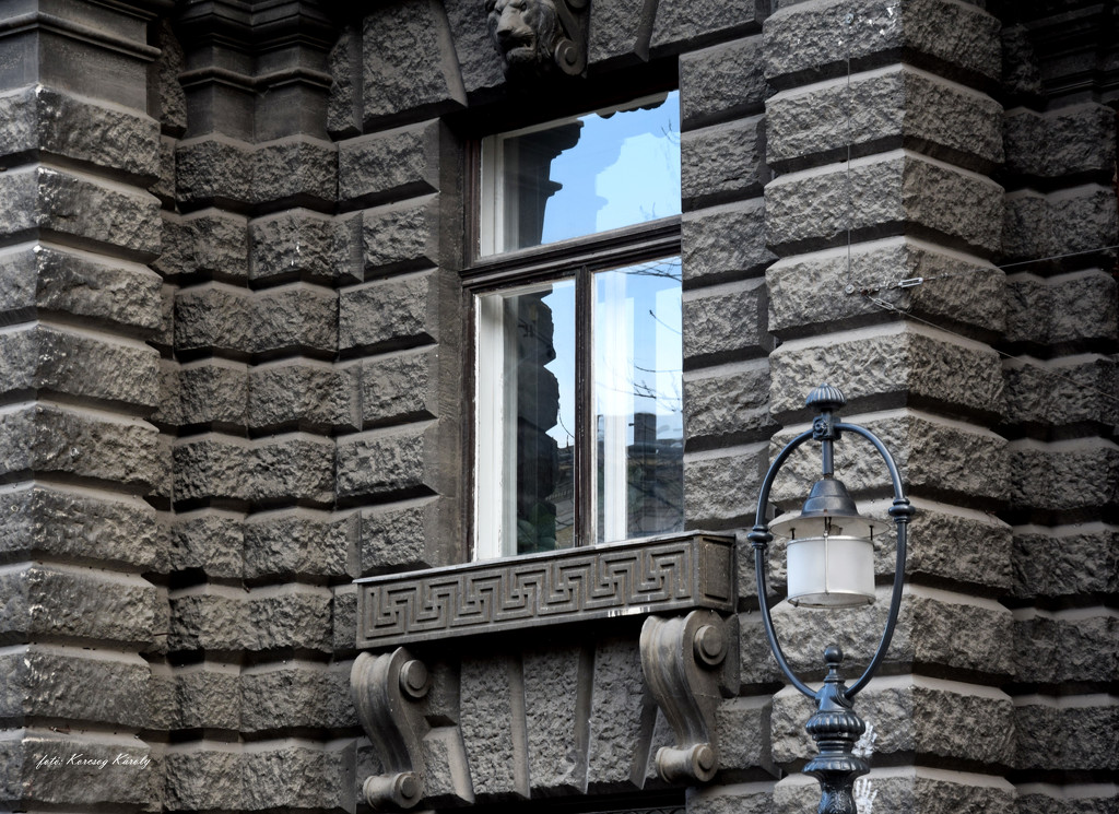 Window with lamp by kork