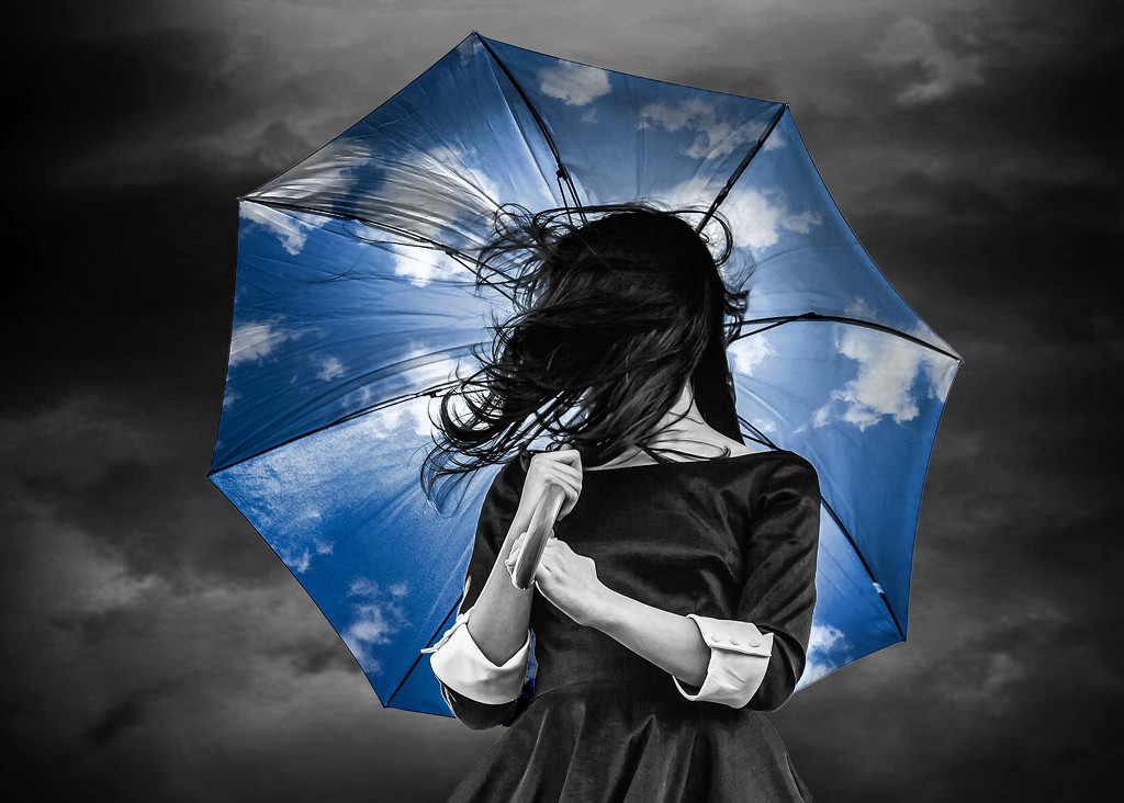 Good Weather Brolly by rosiekerr