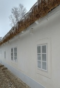 1st Feb 2021 - From Our Walks: Icicles on a Thatched Roof.
