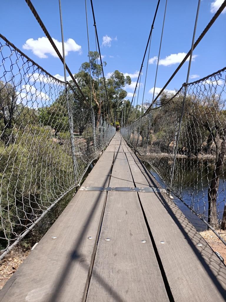 Suspension bridge by winshez