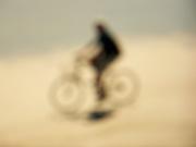 3rd Feb 2021 - OOF - Biking on the beach...