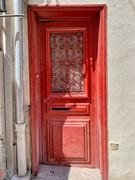 4th Feb 2021 - Hearts on red door.