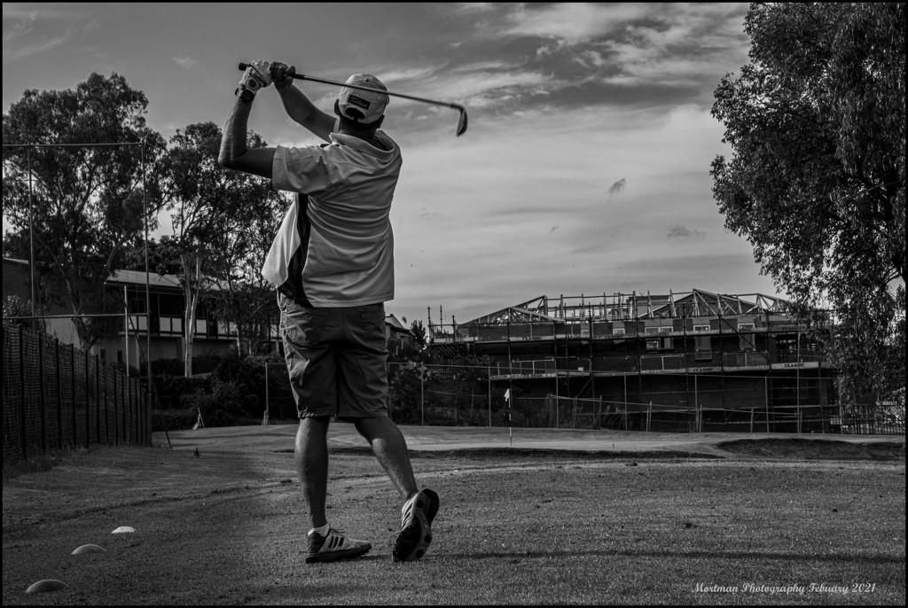 The Golfer by mortman60