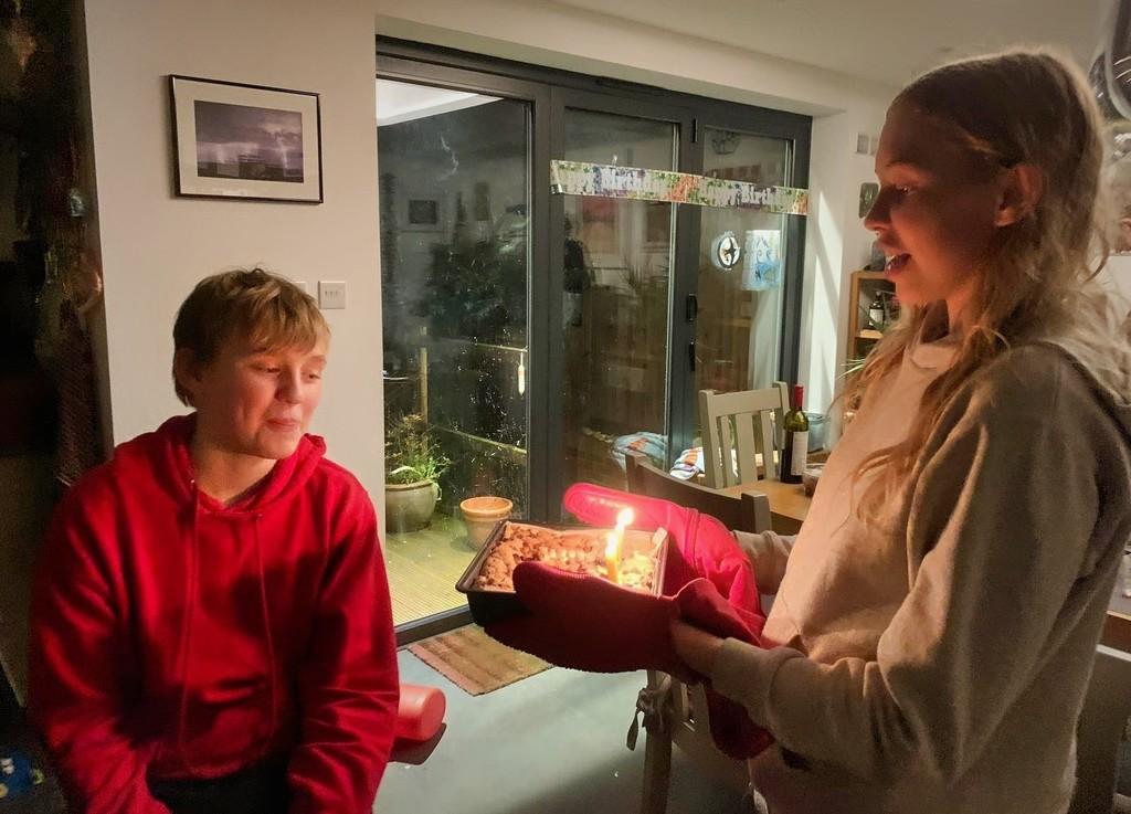 Happy 11th Birthday Oscar by susiemc
