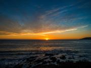 3rd Feb 2021 - Sunset in Warm Glory