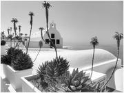 2nd Feb 2021 - Santorini in b&w