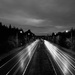 Lonely light trails