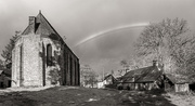 3rd Feb 2021 - Rainbow over Les Forges!
