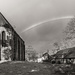 Rainbow over Les Forges! by vignouse