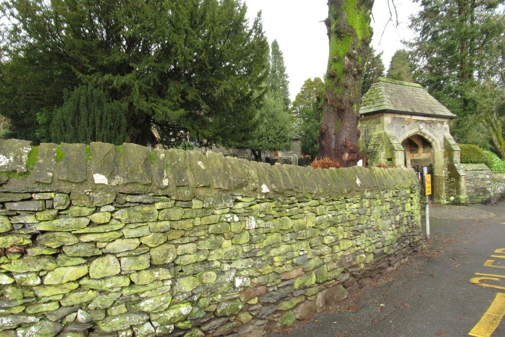 churchyard wall by anniesue