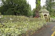 4th Feb 2021 - churchyard wall