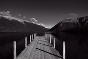 5th Feb 2021 - The jetty at Lake Rotoiti
