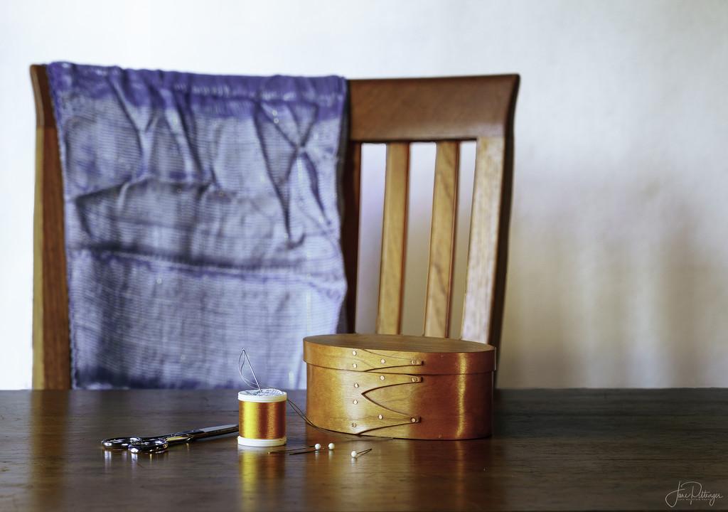 Sewing Still Life by jgpittenger