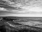 5th Feb 2021 - BnW Coastal Sunset