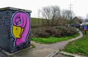 6th Feb 2021 - Stonebridge Lock flamingo