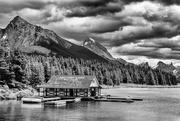 7th Feb 2021 - Maligne Lake Jasper National Park