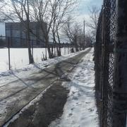 6th Feb 2021 - Fences #2: Fenced Footpath