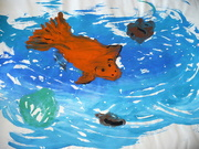 5th Feb 2021 - Thrown away fish in Dry Lake