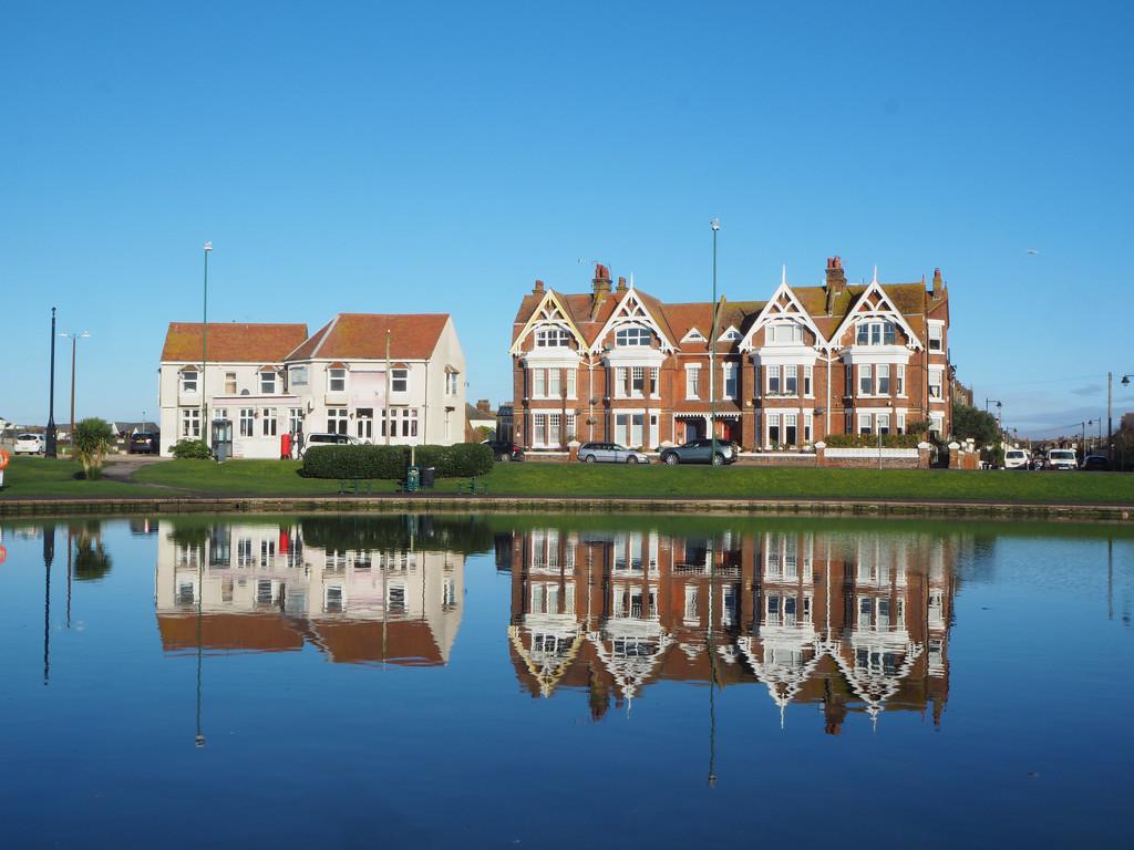 Oyster Pond, Littlehampton by josiegilbert